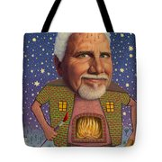 Snow On The Roof... Tote Bag
