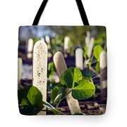 Snow Peas Please Tote Bag