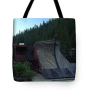 Snow Plow Tote Bag