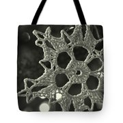 Snow Point Lace Tote Bag