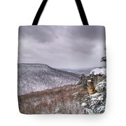 Snow Remoteness Tote Bag