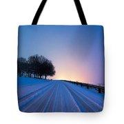 Snow Rizer Tote Bag