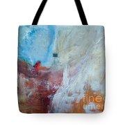 Snow Shack Tote Bag