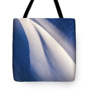 Snow Shapes Xix Tote Bag