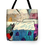 Snow Shovel Tote Bag