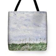 Snow Sky Tote Bag