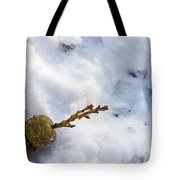 Snow Sprouts Tote Bag