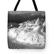 Snow Squal On Lake Michigan Tote Bag