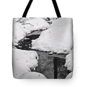 Snow Stream 2 Tote Bag
