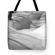 Snow Swirls Tote Bag