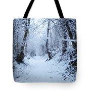 Snow Walk Tote Bag