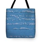 Snow Wall Art Tote Bag