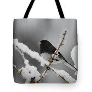 Snow Watcher Tote Bag