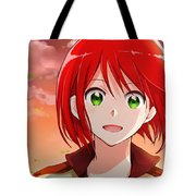 Snow White With The Red Hair Tote Bag