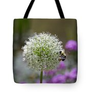 Snowball And The Bumblebee Tote Bag