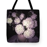 Snowball Bouquet Tote Bag