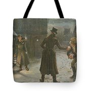 Snowballing The Watchmen Tote Bag