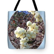Snowberry Cluster Tote Bag
