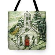 Snowbirds Visit St. Paul Tote Bag