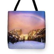 Snowbow Tote Bag