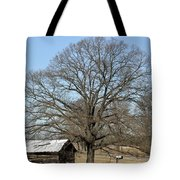 Snowcapped Tobacco Shed Tote Bag