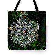 Snowcrystal Ornament 2016 Tote Bag