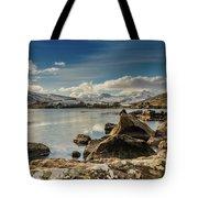 Snowdon From Llynnau Mymbyr Tote Bag