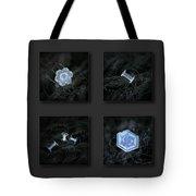 Snowflake Collage - 29 January 2018 Tote Bag by Alexey Kljatov