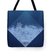 Snowflake Jewel Tote Bag