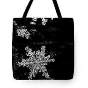 Snowflake Jewels Tote Bag