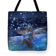 Snowflake Tote Bag by Mary Hood