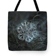 Snowflake Photo - Alcor Tote Bag by Alexey Kljatov