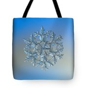 Snowflake Photo - Gardener's Dream Tote Bag by Alexey Kljatov