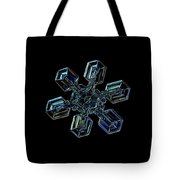 Snowflake Photo - High Voltage IIi Tote Bag by Alexey Kljatov