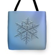 Snowflake Photo - Majestic Crystal Tote Bag