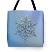 Snowflake Photo - Majestic Crystal Tote Bag by Alexey Kljatov