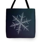 Snowflake Photo - Neon Tote Bag by Alexey Kljatov