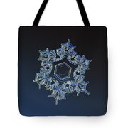 Snowflake Photo - Spark Tote Bag