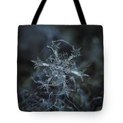 Snowflake Photo - Starlight Tote Bag by Alexey Kljatov