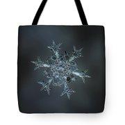 Snowflake Photo - Starlight II Tote Bag by Alexey Kljatov