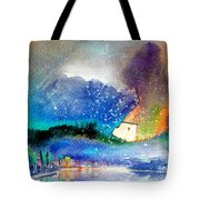 Snowing All Over Spain Tote Bag