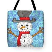 Snowman 2015 Tote Bag