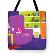 Snowman Party Tote Bag