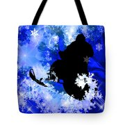 Snowmobiling In The Avalanche  Tote Bag
