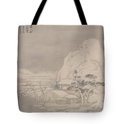 Snowscape From Album For Zhou Lianggong Tote Bag