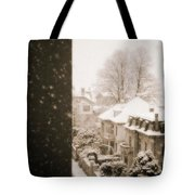 Snowy Afternoon Tote Bag