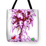 Snowy Bouquet Tote Bag