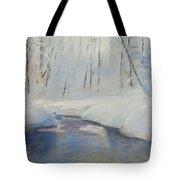 Snowy Creek Tote Bag