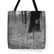 Snowy Dance Tote Bag