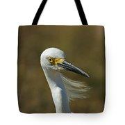 Snowy Egret Profile 2 Tote Bag
